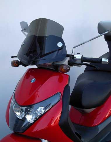 windscreen options for piaggio bv 250