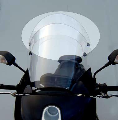 Laminar Lip for Ducati Multistrada MTS 1200 screen 2010-2012
